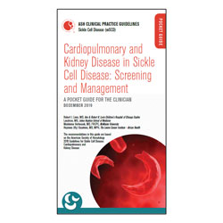 Cardiopulmonary and Kidney Disease in Sickle Cell Disease: Screening and Management